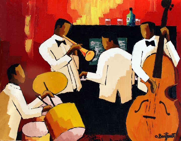 Jazz red Quartet - O.BOISSINOT