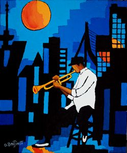 Jazz blue night - O.BOISSINOT