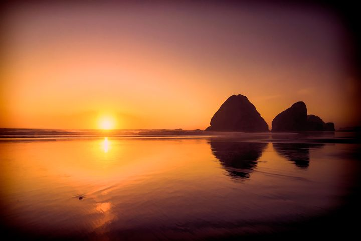 Oregon Sunset - Foto By Rudy