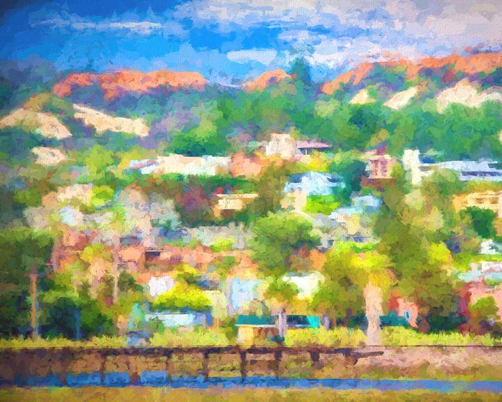Carmel Valley Watercolor - Foto By Rudy