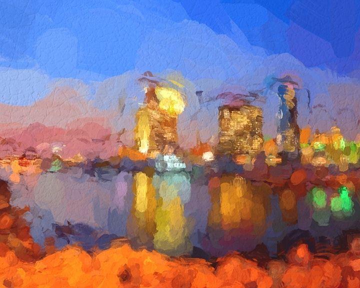San Diego Watercolor - Foto By Rudy