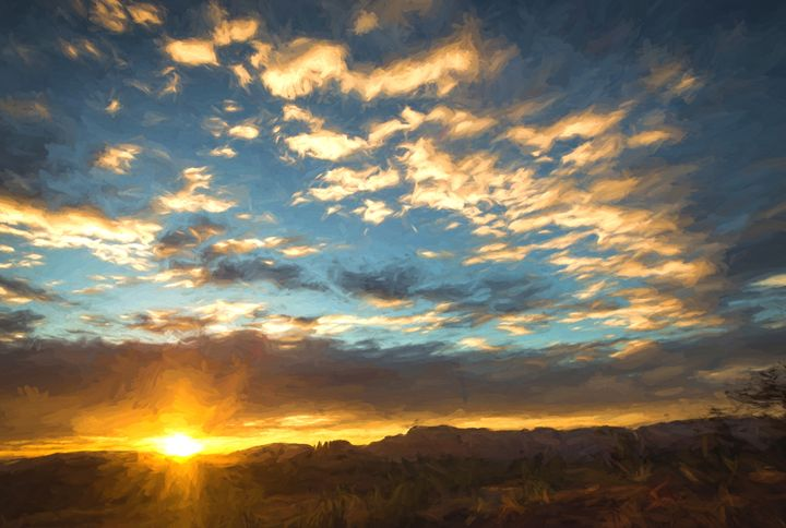 Sedona Sunrise - Foto By Rudy