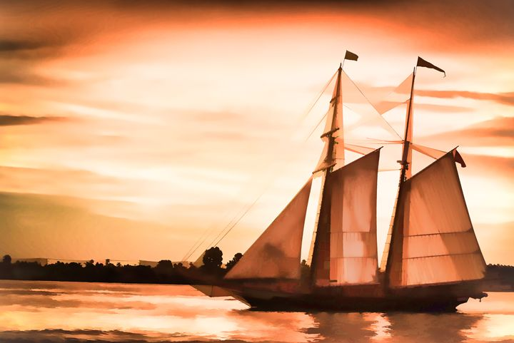 Sunset Sail - Foto By Rudy