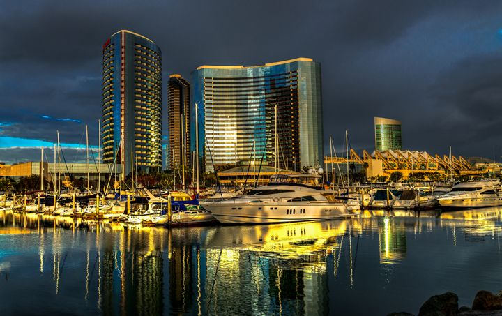 The Embarcadero San Diego - Foto By Rudy