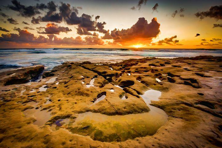 La Jolla California Sunset - Foto By Rudy