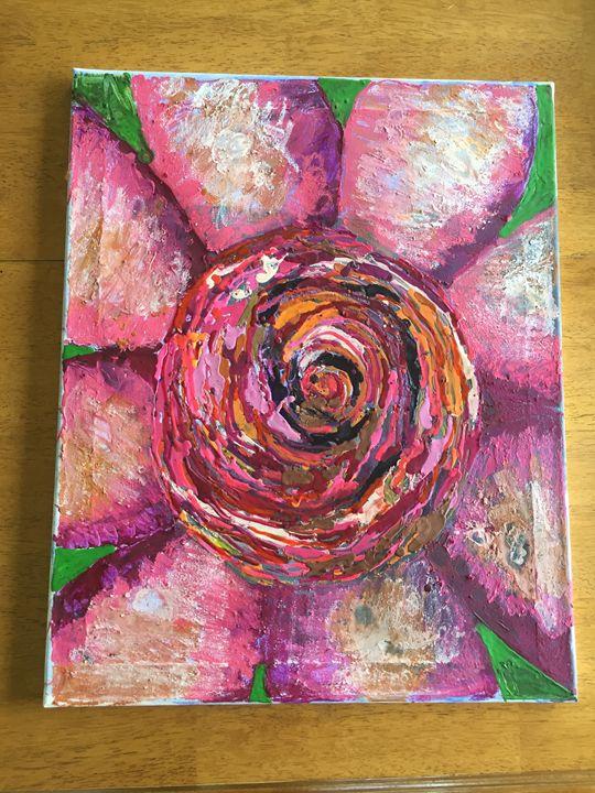 Not a Rose - Crayon art
