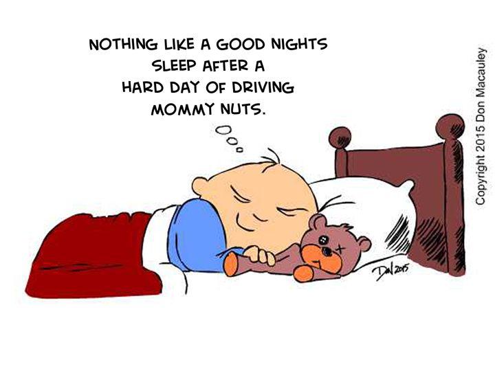 Nathan Good Nights Sleep - Art of Don Macauley