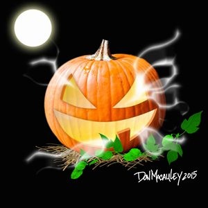 Ghostly Pumpkin
