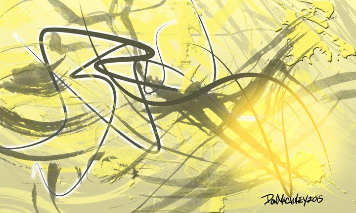 Tan Abstract - Art of Don Macauley