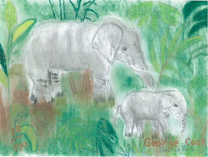 Elephants - George's Art