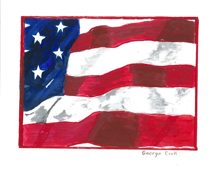 The Flag - George's Art