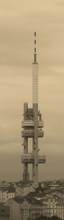 Zizkov TV Tower - D.H.Reeves