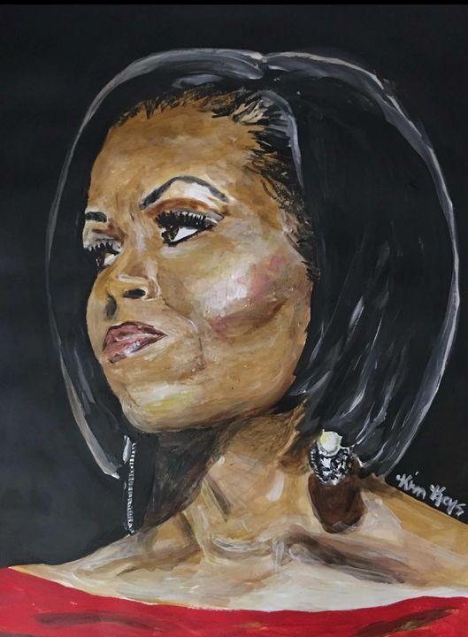 Michelle Obama - Kimberly Keys