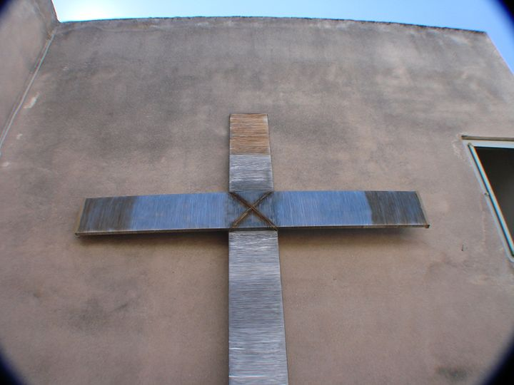 Large Wire Cross - Alexander