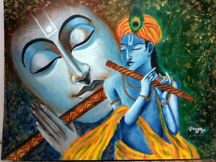 Krishna modern art - S's gallery
