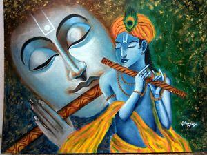 Krishna modern art