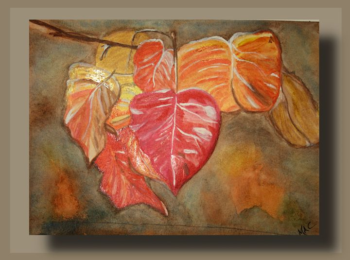 Fall leaves - Artwork by Maggie