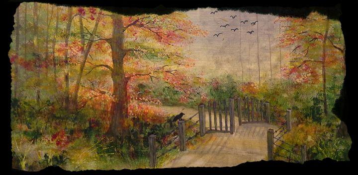 The Garden Path - Artwork by Maggie