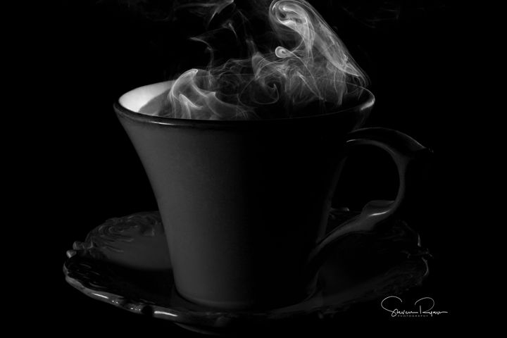 Coffee, black. - Steven G. Ryan