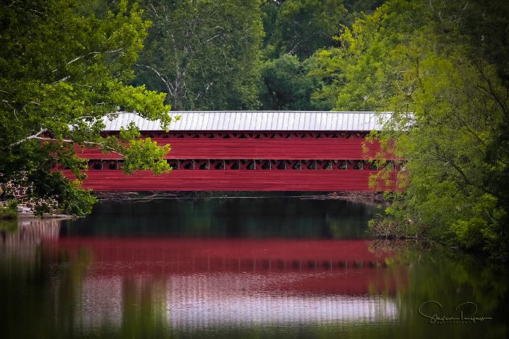 Sachs Covered Bridge - Steven G. Ryan