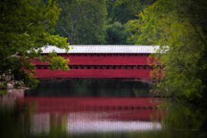 Sachs Covered Bridge_painted - Steven G. Ryan