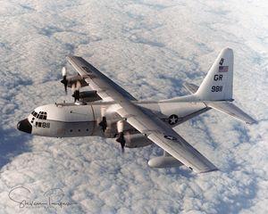 C-130 over Rota, Spain. - Steven G. Ryan