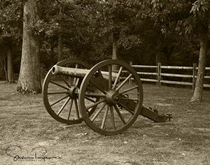 All the cannon silent
