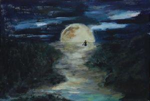 Wet moonlight