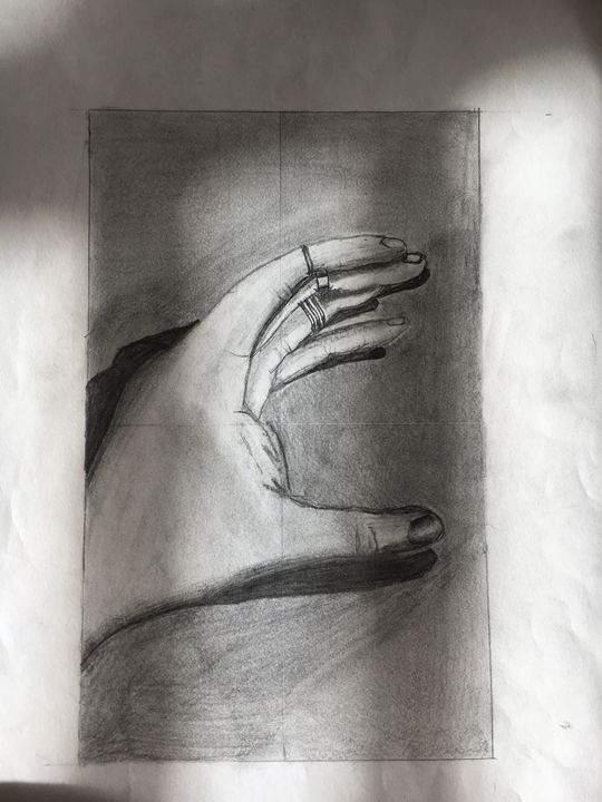 Artist's Hand - Kianna B.