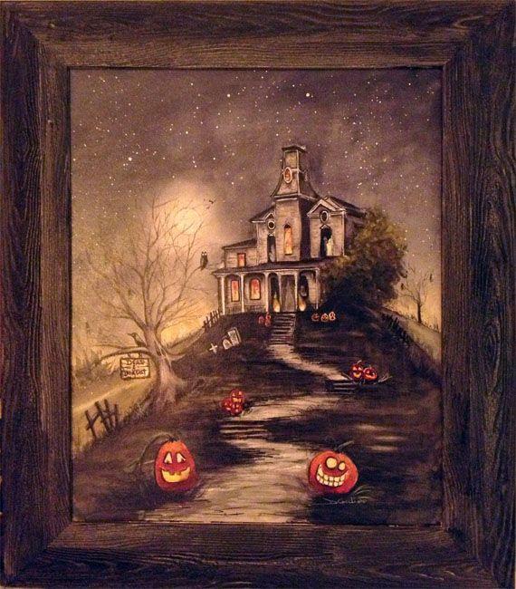 Dead & Breakfast - Spooky Moon Art
