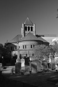 Circular Congregational Church 4 BW