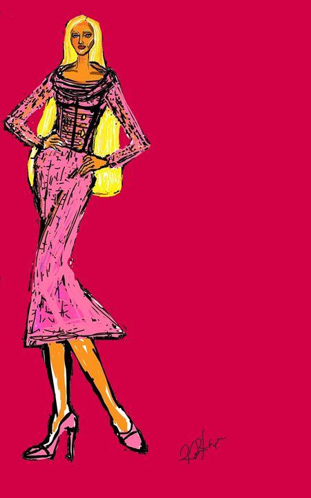 pink - art