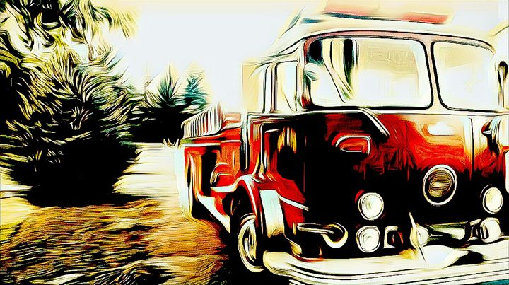 Fire Engine Red - Cammie Rayas