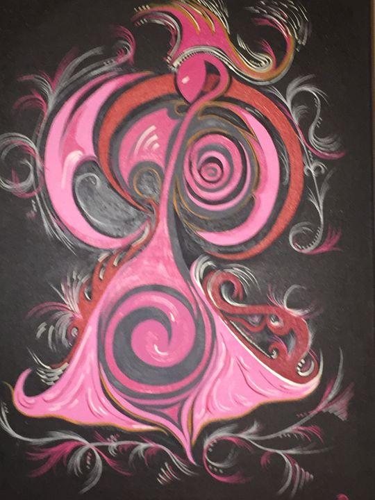 Pink dancer - Delfix