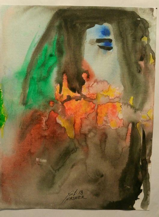 A Woman-Dreaming - Amin Nasher
