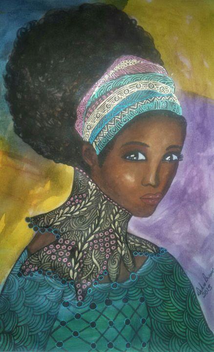 A woman's strength - Debra Brewer Art Gallary