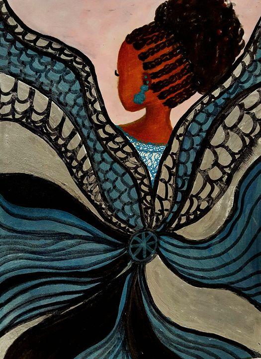 Ballerina Angel - Debra Brewer Art Gallary