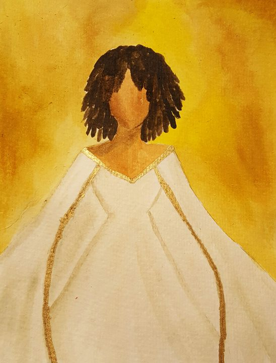 Blessings Angel - Debra Brewer Art Gallary