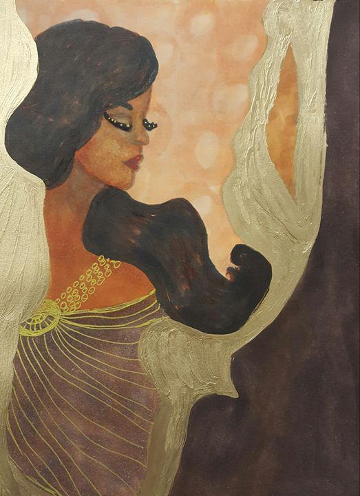 Peaceful Angel - Debra Brewer Art Gallary