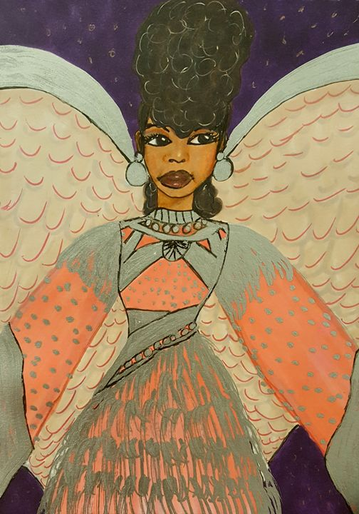 Sassy Angel - Debra Brewer Art Gallary