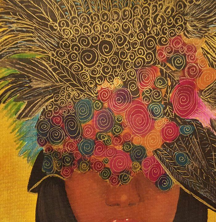 Crazy Hat Day - Debra Brewer Art Gallary
