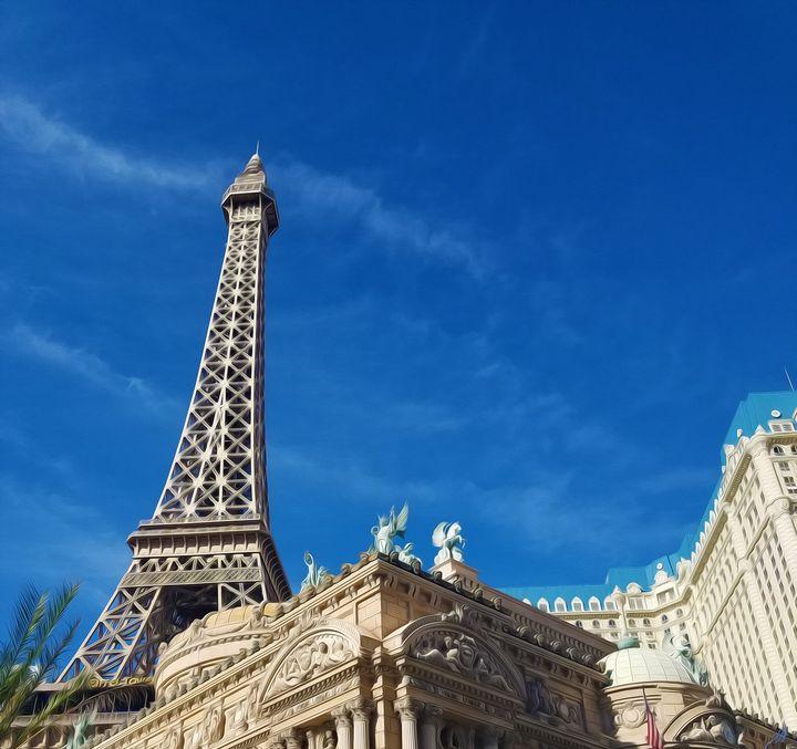 Mimesis Eiffel Tower - JSJ Designs+