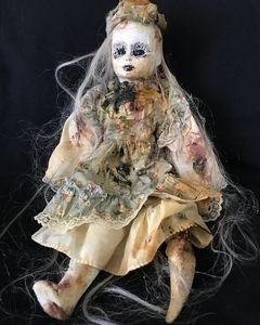 CONSUMED Horror Doll - Horror & Dark Art by Connie Gallo