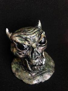 """""""Soulless"""" Dark Art Demon Sculpture"""