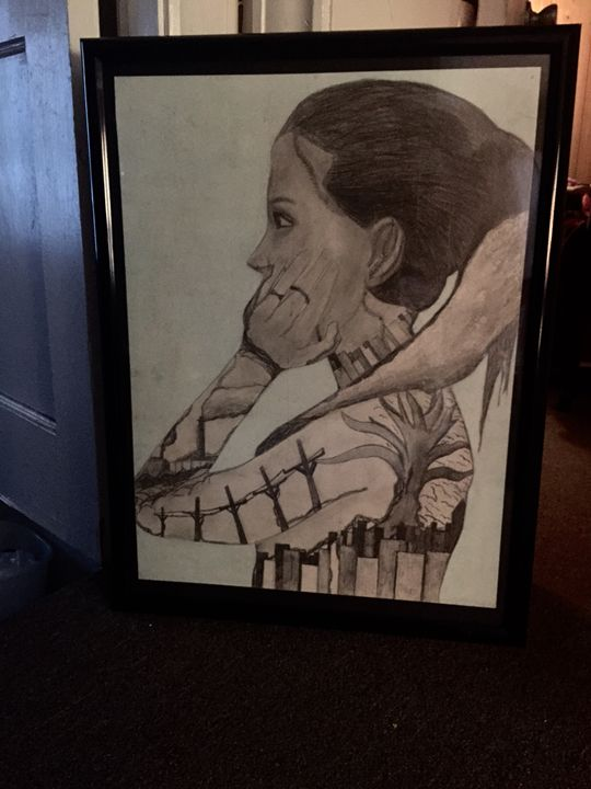 Portrait Profile - Art by Lindsey