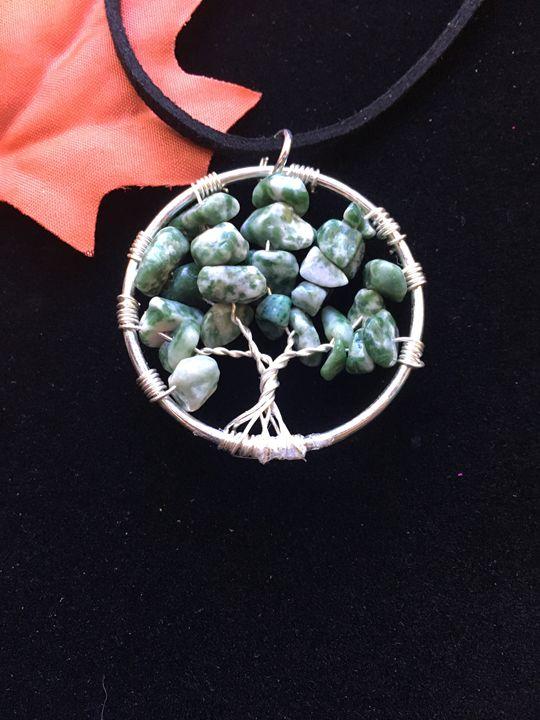 Tree of Life Pendant - Alicia's Rubis