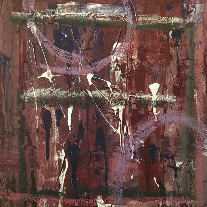 Blood Hands - Jojo's Original Paintings