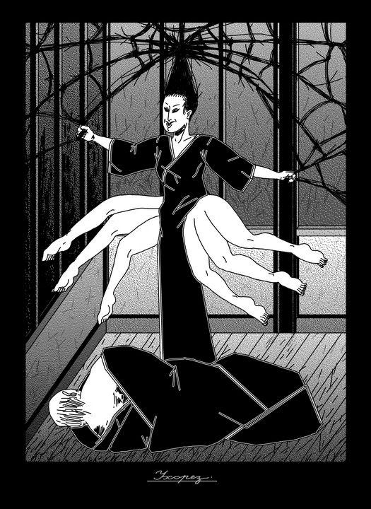 black widow - uhorez