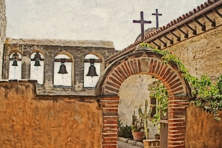 Mission of San Juan Capistrano Print - Xpressions of Creation