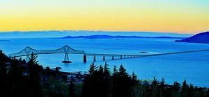 Astoria-Megler Bridge @ Sunset - Xpressions of Creation